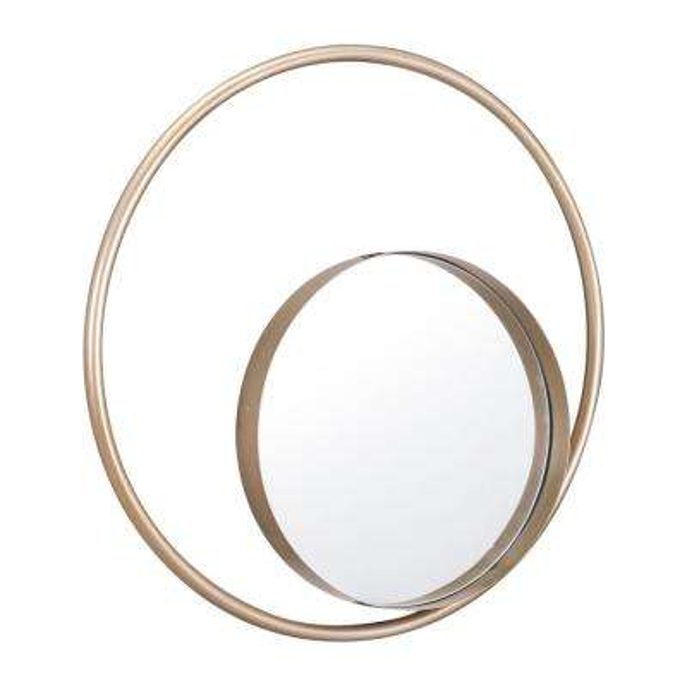 Solar Gold Decorative Mirror