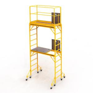 MetalTech Safeclimb Baker Style 12 ft. x 6.1 ft. x 2.5 ft. Steel Scaffold Tower with 1000 lbs. Load... by MetalTech