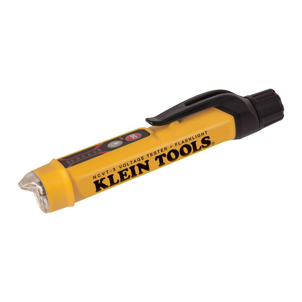 Non Contact Voltage Tester : Klein tools non contact voltage tester with flashlight