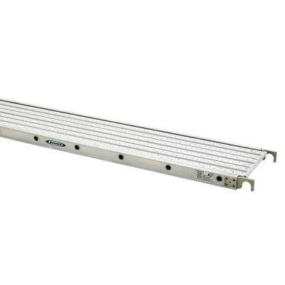 7 ft. Aluminum Decked Aluma-Plank with 250 lb. Load Capacity