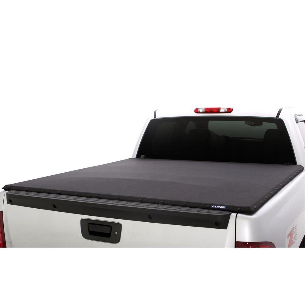 Lund Genesis Elite Snap Tonneau Cover 90988 The Home Depot