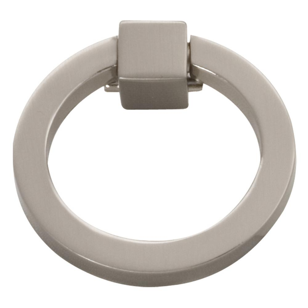 Hickory Hardware Camarilla 2 1/16 In. Satin Nickel Furniture Ring Pull