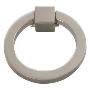 Camarilla 2-1/16 in. Satin-Nickel Furniture Ring Pull