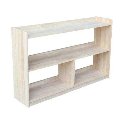 Abby 48 in. W Unfinished Bookcase