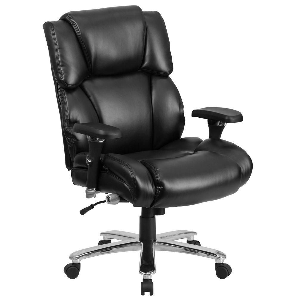 Flash Furniture Black Leather Office/Desk Chair GO2149LEA