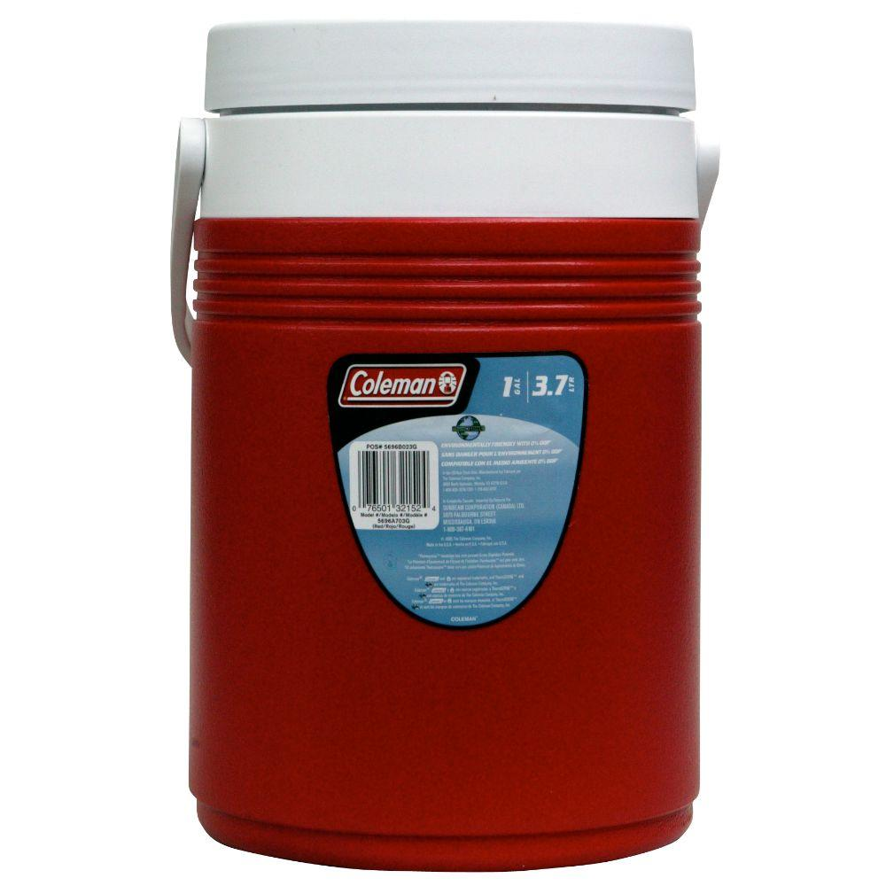 1-Gal. Cooler,  Red