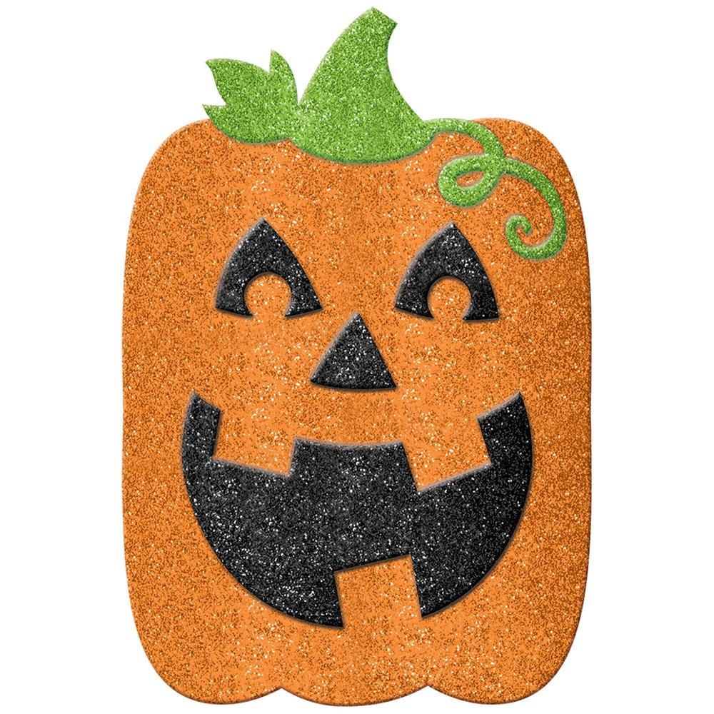 22 in. Halloween Jack-O'-Lantern Yard Decoration (2-Pack)