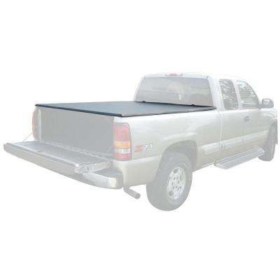 71 in. x 69.5 in. 25 lb. Vinyl Tonneau Truck Bed Cover for GMC Sierra