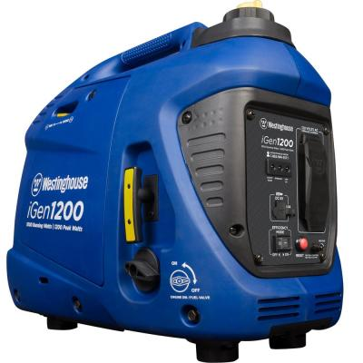 iGen1200 1,200/1,000 Watt Gas Powered Portable Inverter Generator with Enhanced Fuel Efficiency