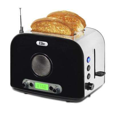 2-Slice Toaster in Black
