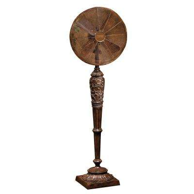 16 in. Cantalonia Deco Standing Floor Fan