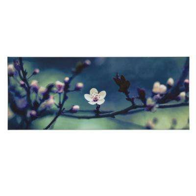 "40 in. x 16 in. ""Petite Petals "" Printed Wall Art"