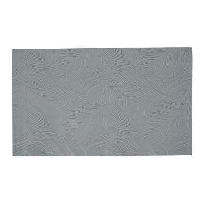 Goya Gray 2 ft. x 4 ft. Indoor/Outdoor Runner Rug