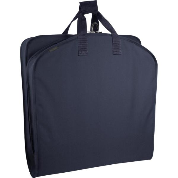 WallyBags 40 in. Navy Suit Length Carry-On Garment Bag
