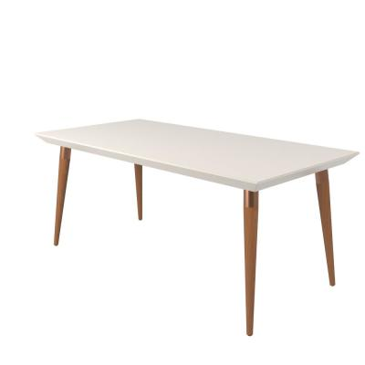 Utopia 70.86 in. Off-White Dining Table
