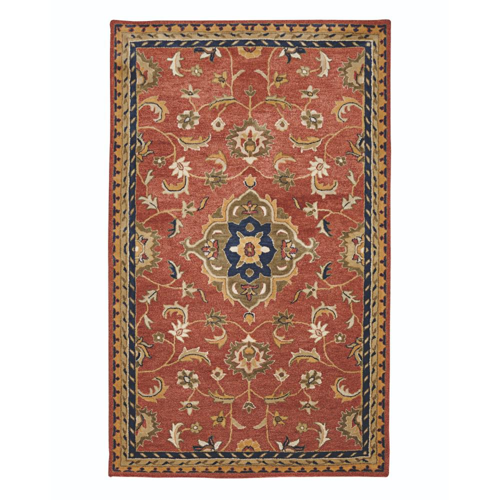 Home Decorators Collection Basel Red Multi 10 Ft X 14 Ft