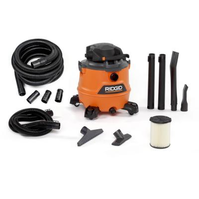 16 Gal. 6.5-Peak HP NXT Wet/Dry Shop Vacuum with Detachable Blower, Filter, 7 ft. Hose, 20 ft. Hose and Accessories