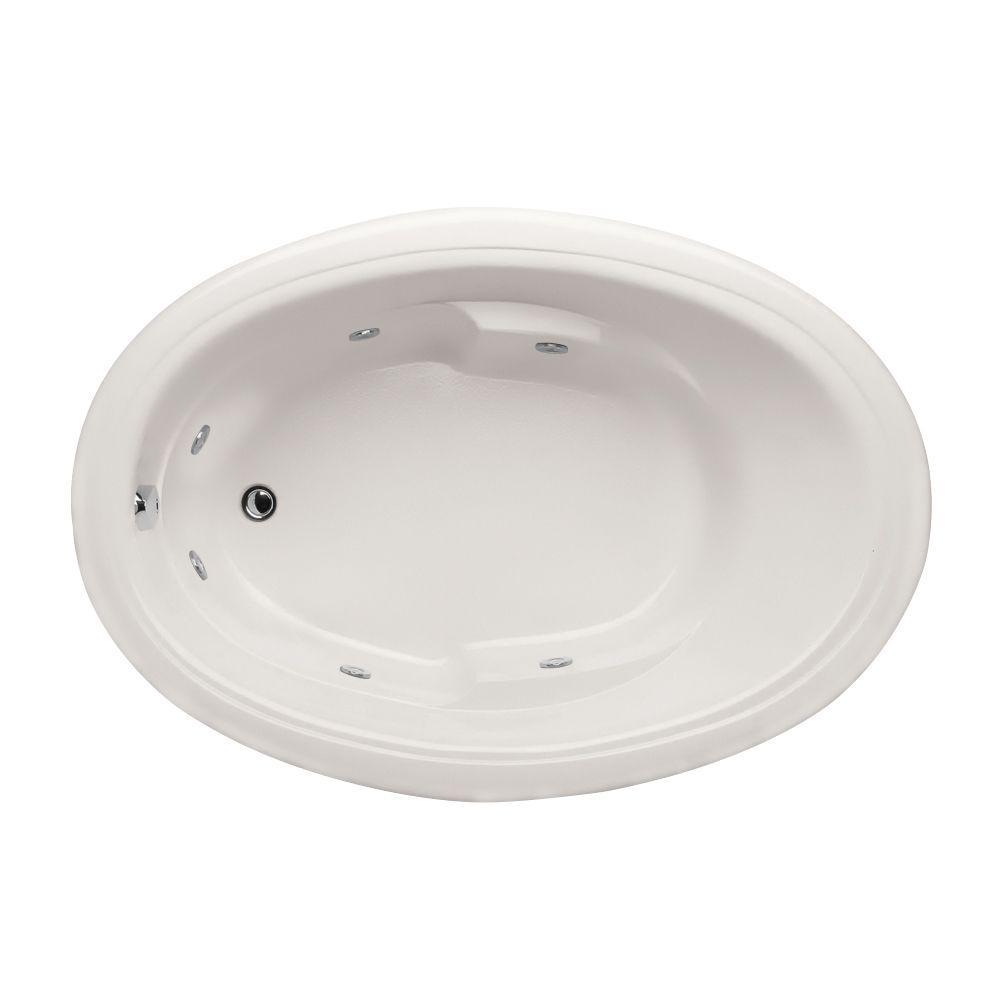 KOHLER ProFlex 6 ft. Whirlpool Tub in White-K-1131-0 - The Home Depot