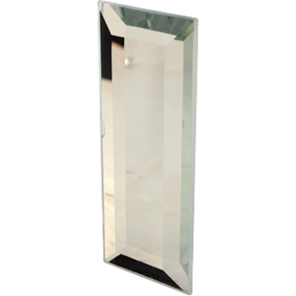 Adhesive Backed Mirrored Door Pull