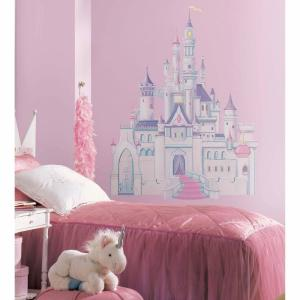 5 in. x 19 in. Giant Disney Princess Castle 7-Piece Wall Decal