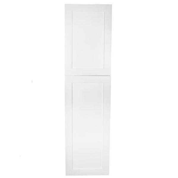 Silverton 14 in. x 56 in. x 4 in. Frameless Recessed Medicine Cabinet/Pantry