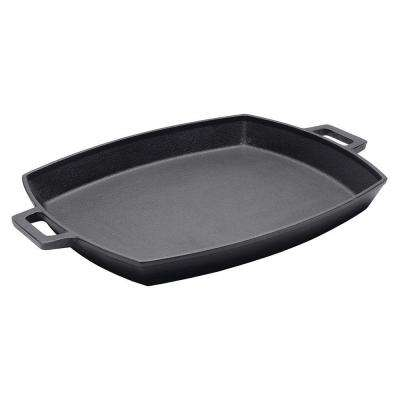 12 in. x 14 in. Cast-Iron Shallow Bacon Pan