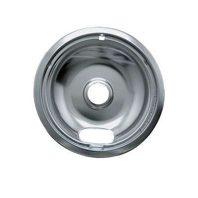 8 in. A Style Drip Pan A in Chrome