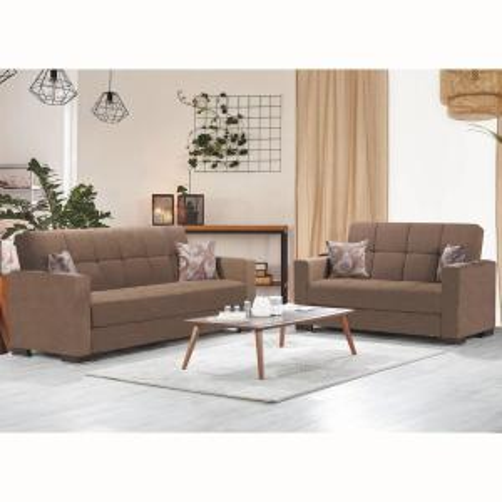 Pleasing Ottomanson Armada Dark Beige Fabric Upholstery Sofa Sleeper Lamtechconsult Wood Chair Design Ideas Lamtechconsultcom