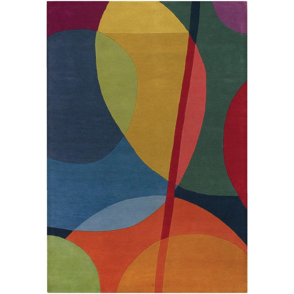 Bense Multicolor 5 Ft X 8 Indoor Area Rug