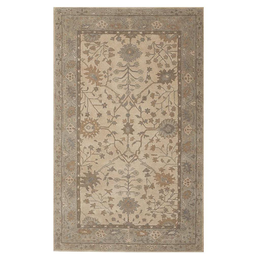 Home Decorators Collection Cher Grey 8 Ft X 8 Ft Round Area Rug 9427050270 The Home Depot
