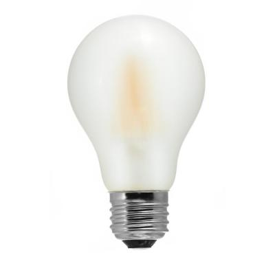 60-Watt Equivalent A19 Medium Base Dimmable Frosted LED Light Bulb Warm White