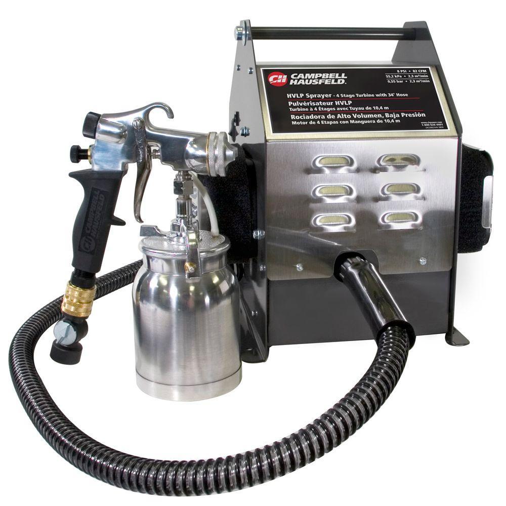 Campbell Hausfeld HVLP Professional Paint Sprayer 4 Stage Turbine