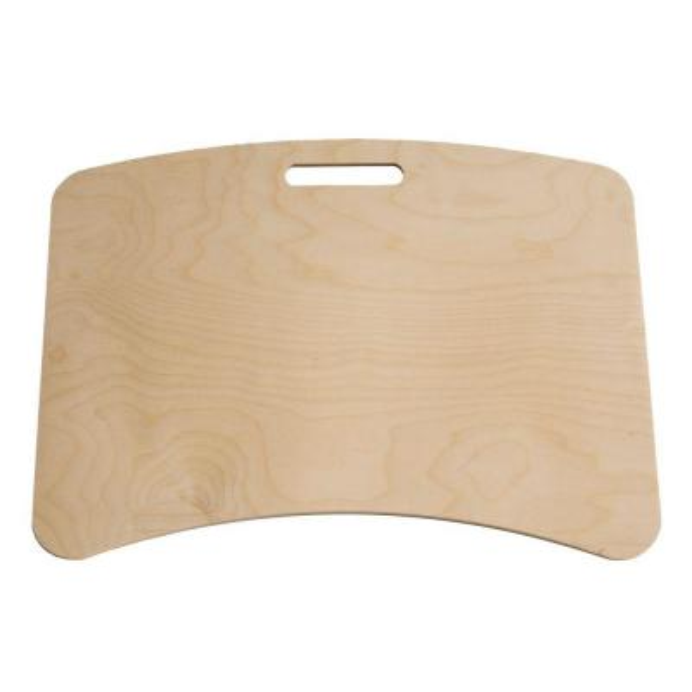 Unfinished Wood Lap Desk