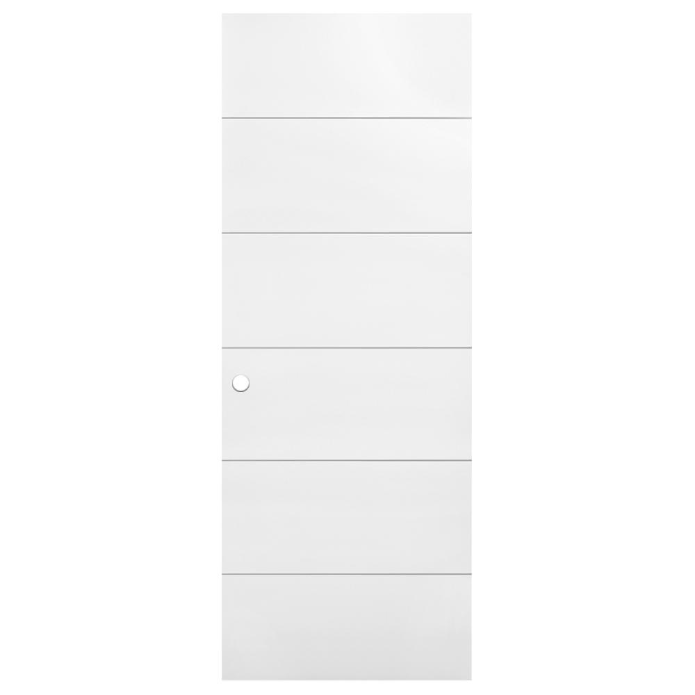 30 in. x 80 in. Melrose Primed Hollow Core Composite Interior