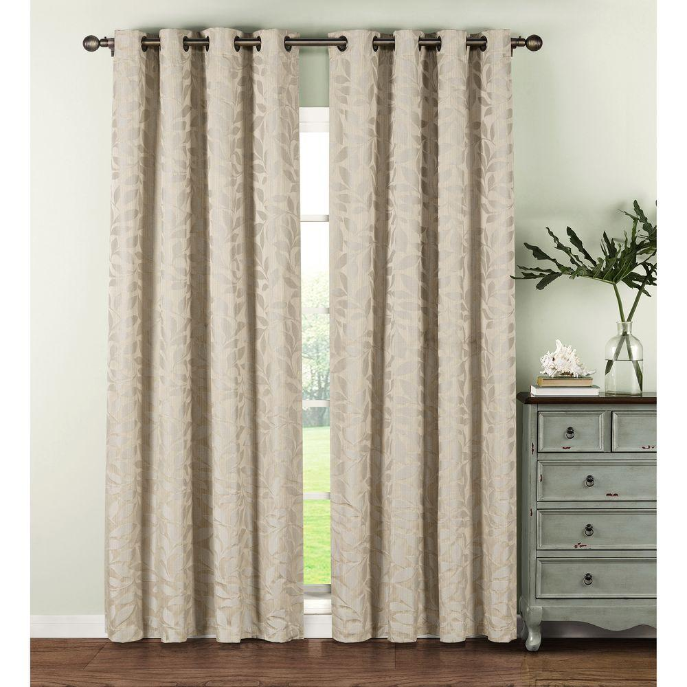 Window elements semi opaque alpine textured woven leaf 54 for Window curtains texture
