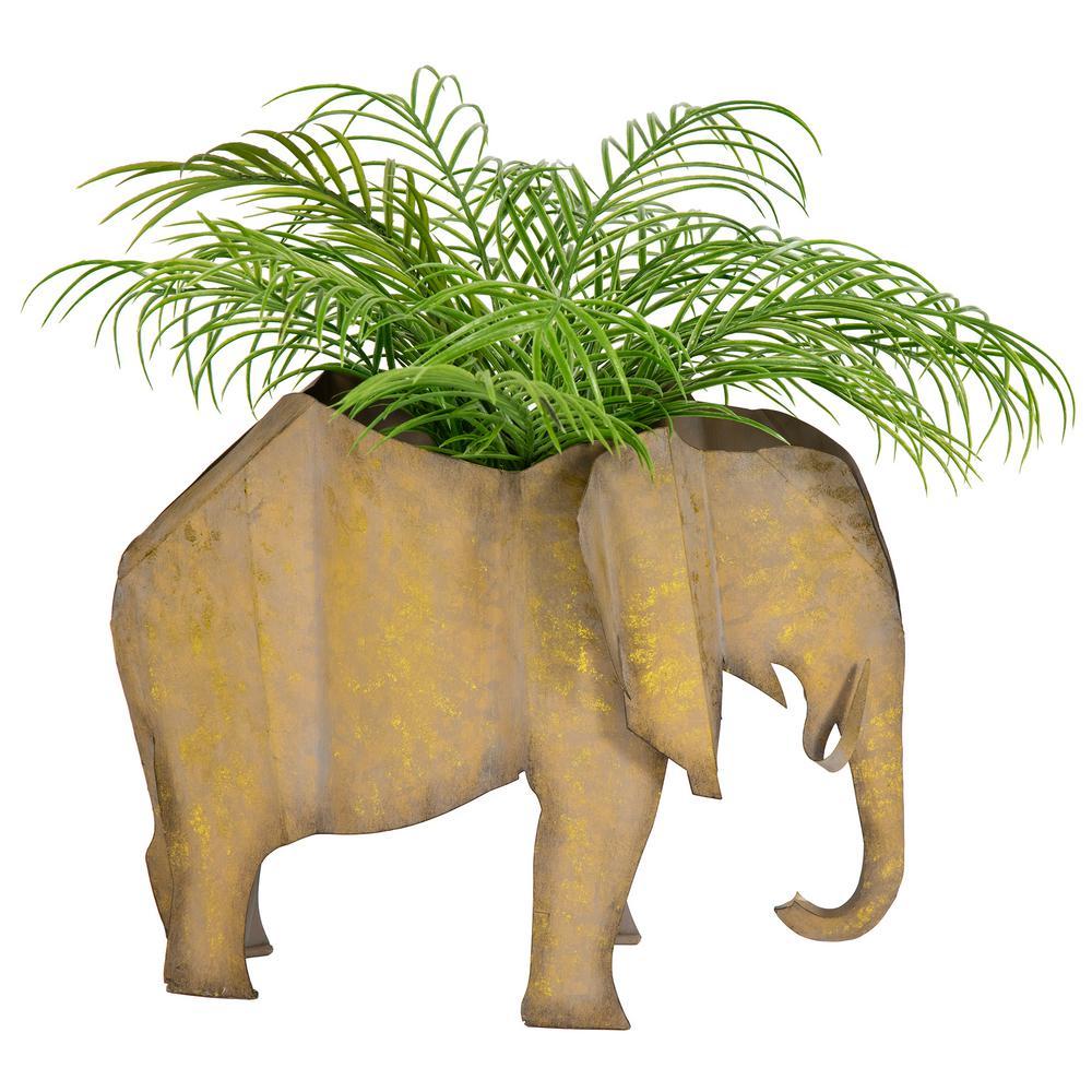 Jelani Elephant Planter