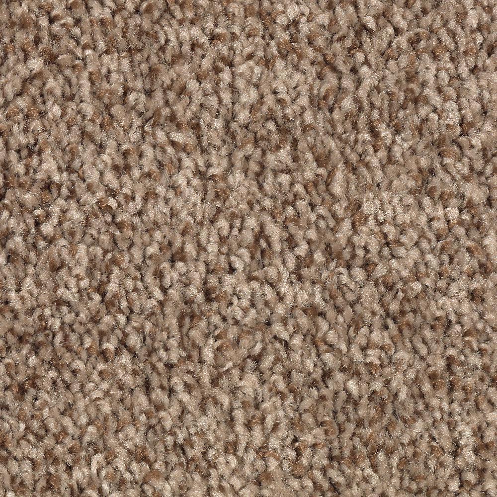 Gemini II-Color Stonington Beige Textured 12 ft. Carpet