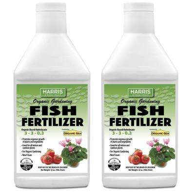 64 oz. Organic Gardening Liquid Fish Fertilizer and Plant Food (2-Pack)