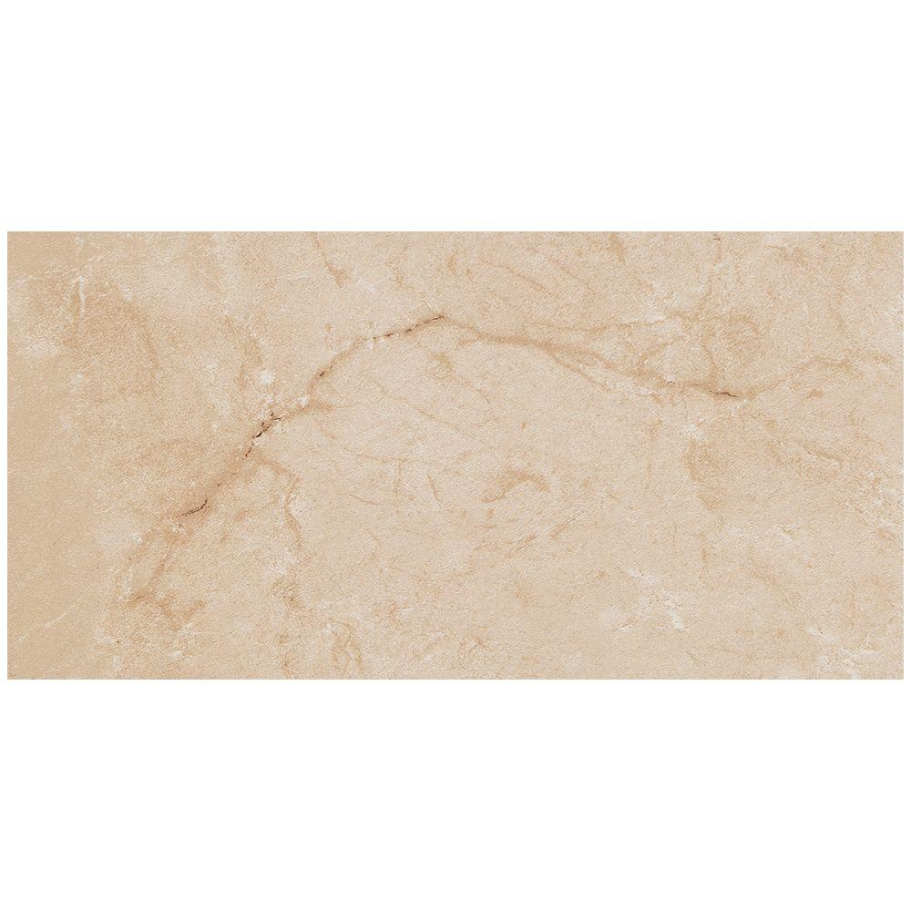 Marazzi Vitaelegante Crema 12 In X 24 Porcelain Floor And Wall Tile