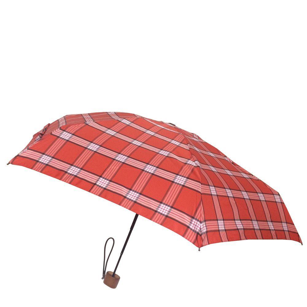 42 in. Arc Canopy Mini Umbrella in Fashion Red