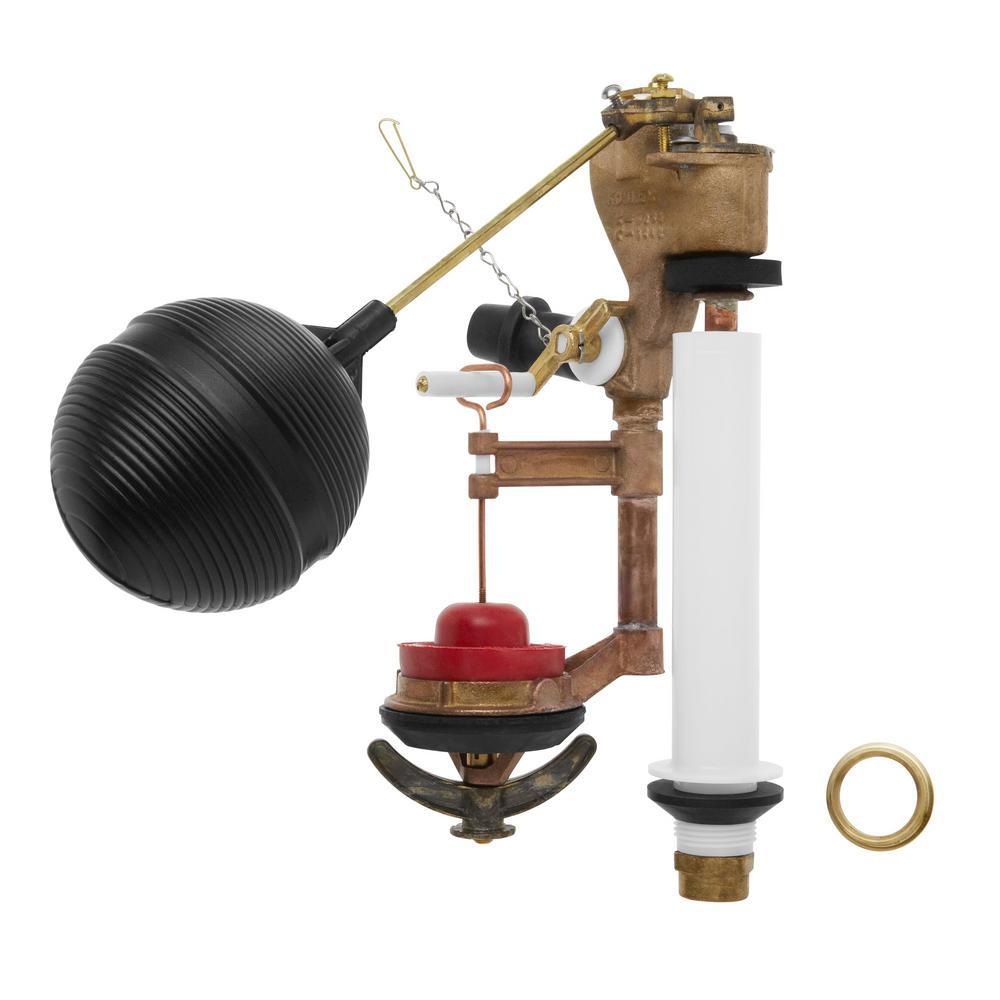 float flush valve kit for older 1 piece toilets 30668. Black Bedroom Furniture Sets. Home Design Ideas