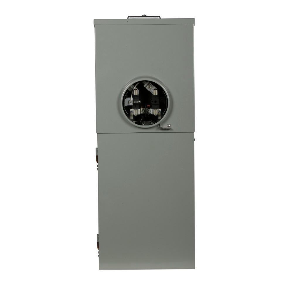 BR 200 Amp 16-Circuit Meter Breaker Outdoor Surface Mount