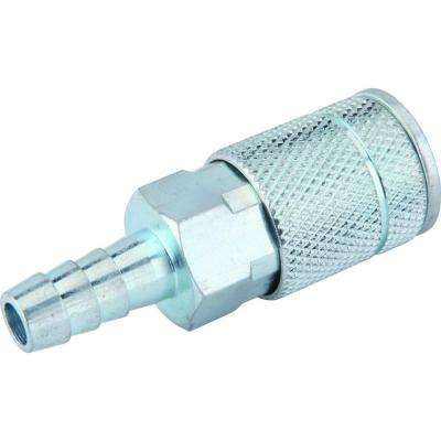 Zinc 1/4 in. x 3/8 in. Automotive Barbed Coupler