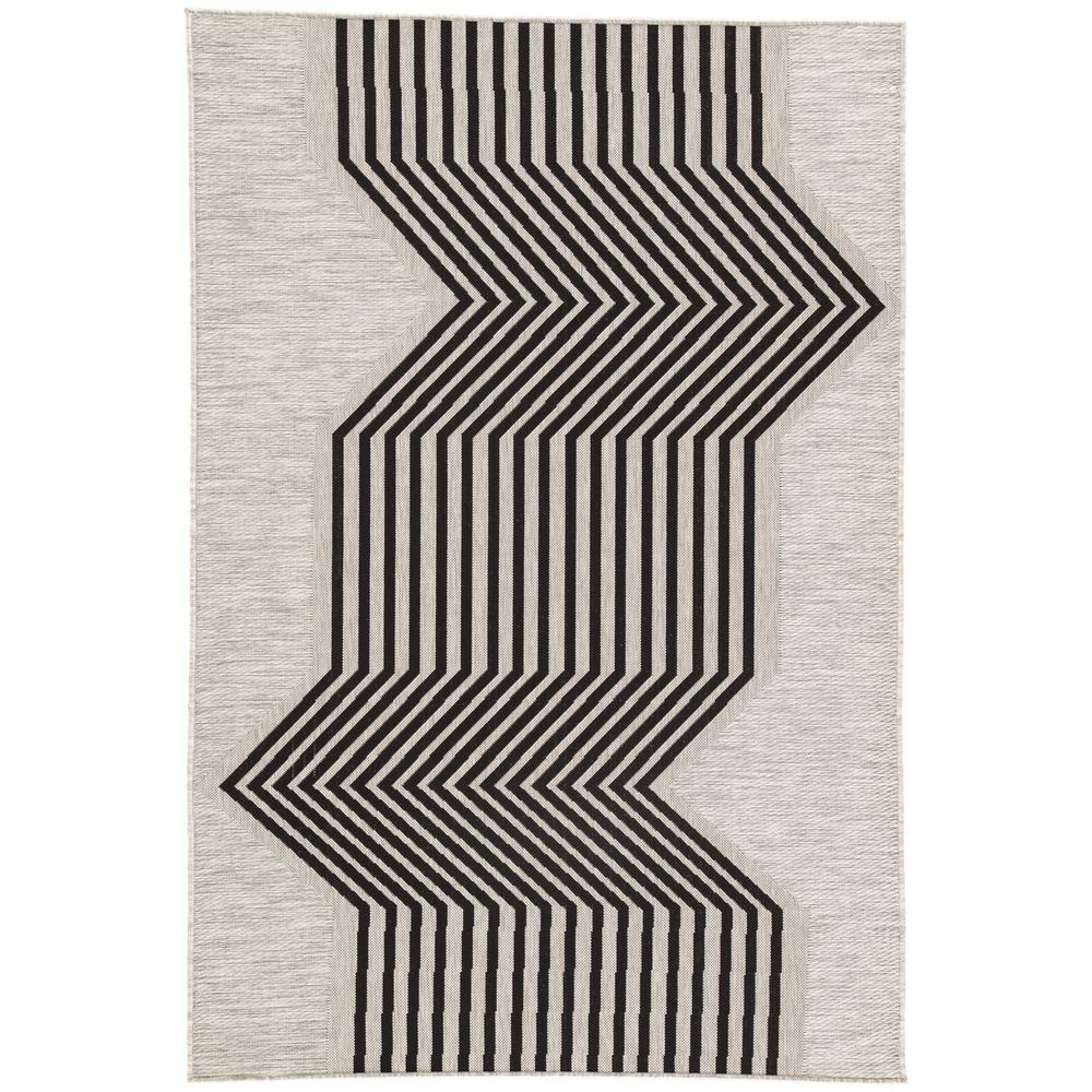 Moonstruck 6 ft. x 8 ft. Geometric Indoor/Outdoor Area Rug