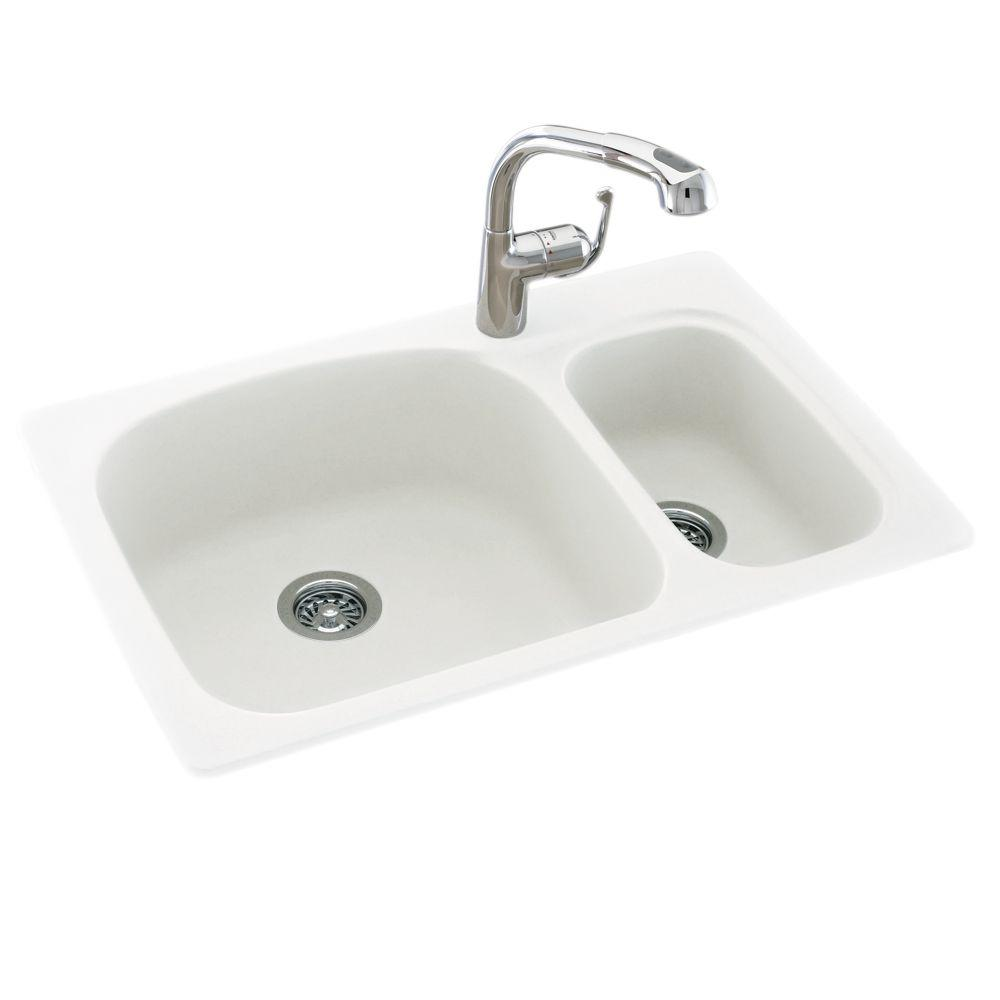 Swan Drop In Undermount Solid Surface 33 1 Hole 70