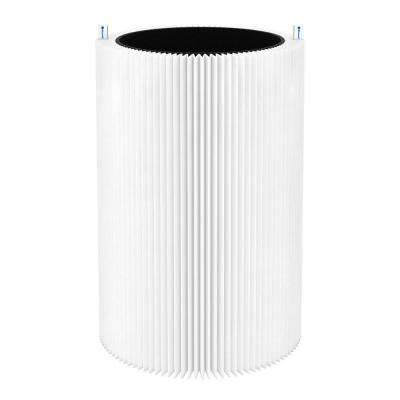 Blue Pure 411 Replacement Filter, Particle and Activated Carbon, Fits Blue Pure 411 Air Purifier, by Blueair