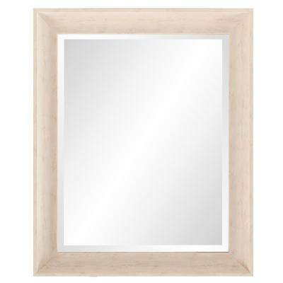 Parker White Rectangle Decorative Mirror