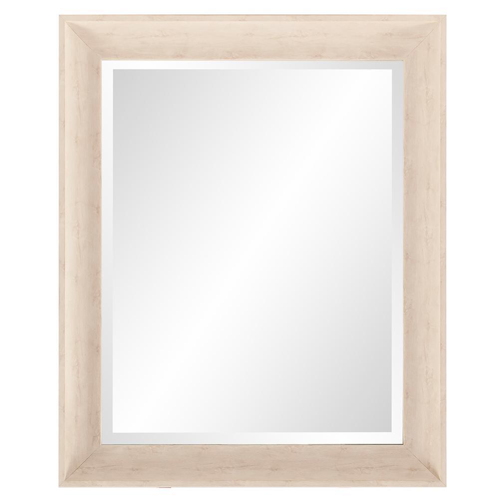 Parker White Rectangle Decorative Mirror