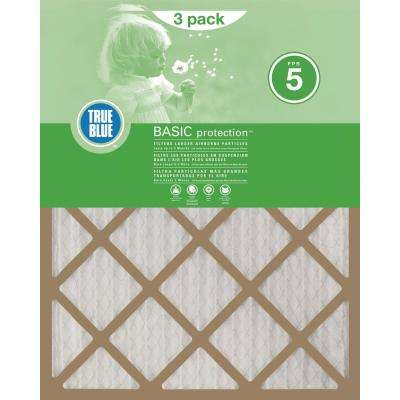 16 in. x 25 in. x 1 in. Basic FPR 5 Pleated Air Filter (Four 3-Pack)
