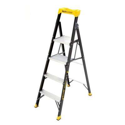 5.5 ft. Fiberglass Hybrid Ladder with 250 lb. Load Capacity Type I Duty Rating (Comparable to 6 ft. Step Ladder)